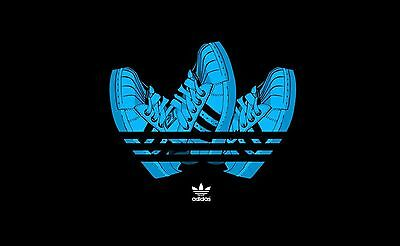 ADIDAS SHOES Poster [Various Sizes] Marketing Promotional Poster