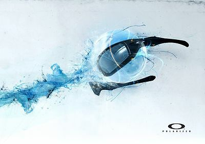 OAKLEY Poster [Various Sizes] Marketing Promotional Poster HYDROPHONIC
