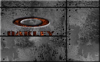 OAKLEY Poster [Various Sizes] Marketing Promotional Poster HOT