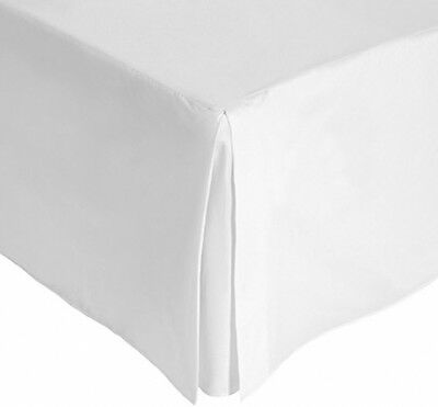 Julian Charles King Size Percale 180 Thread Count Base Valance, White