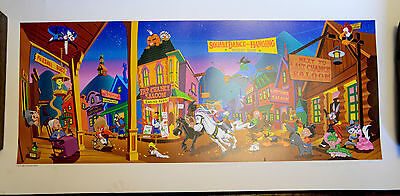 Warner Brothers LOONEY TUNES Ltd edition 1995 TUNESTONE Lithograph, Bugs Bunny