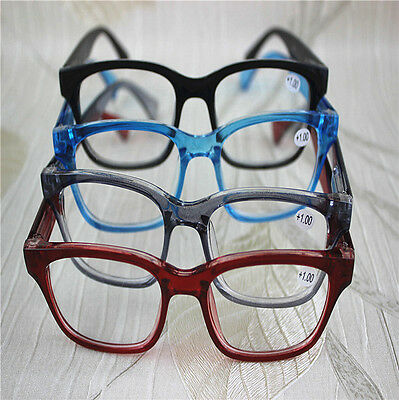 Jelly Colors Round Oval Frame Spring Reading Glasses Readers + 0.5 0.75 1.0~4.0