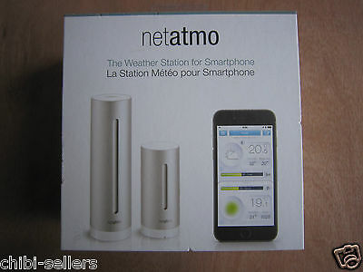 Netatmo Urban Wireless Weather Station For Iphone/ipad/android**new Free P&p**
