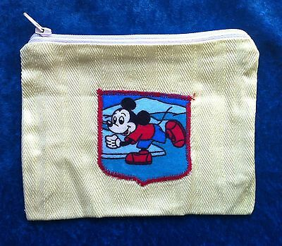 Mickey Mouse coin purse yellow ice skater phone cover pencil case mouse pouch