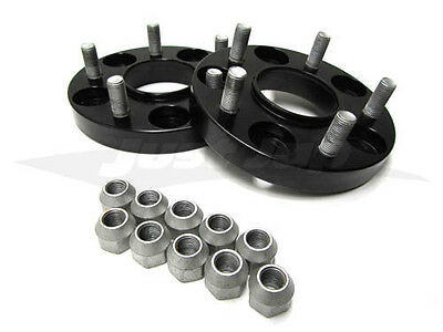 JJR 15mm Bolt-on Wheel Spacers - M12 x P1.5 (5 x 114.3)