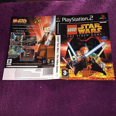 ARTWORK FOR LEGO STAR WARS THE VIDEO GAME ps2  NO GAME DISC INCLUDED
