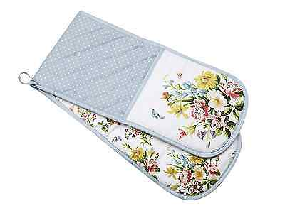 Creative Tops Katie Alice English Garden Shabby Chic Cotton Double Oven Glove, M