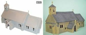 DAPOL English Village Church Kit C029 OO HO scale Anglican