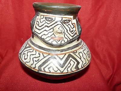 Shipibo Peru Amazon Indian Effigy  Pot