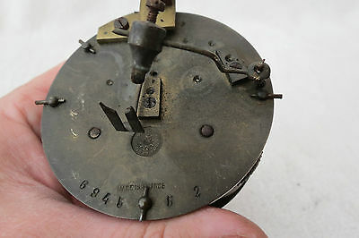 Antique Japy Striking Clock Movement For Tlc