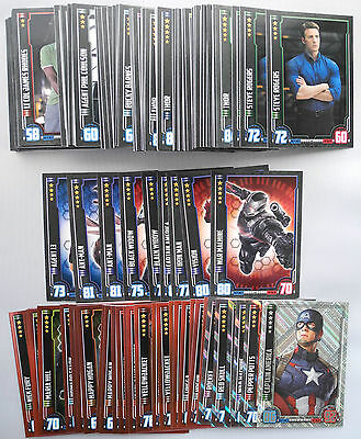 Topps Hero Attax Marvel Trading Cards Bundle Job Lot x160 Mixed Cards Holograms