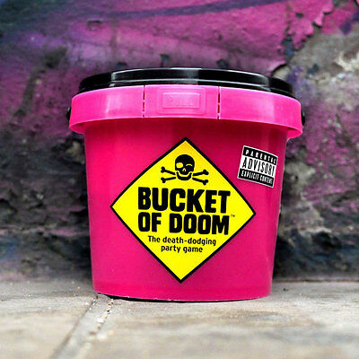 Bucket of Doom Adult Funny Hilarious After Dinner Party Game Fun Christmas Gift