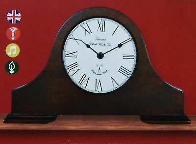 acctim dalton westminster chime mantel clock/auto night shut-off/rc/ auto set up
