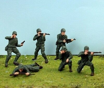 Army Men - Set of 6 - Roughly G Scale