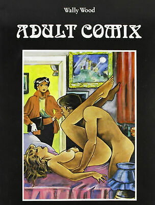 ADULT COMIX  : Volume a fumetti erotico ed. GLITTERING di Wally Wood