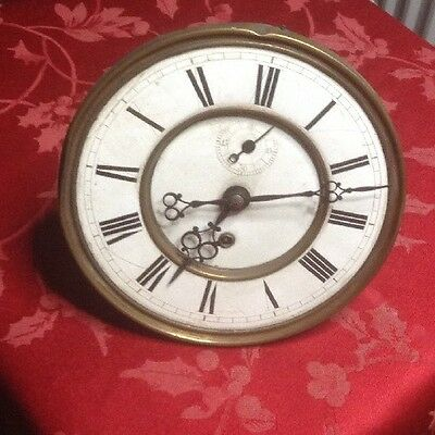 Quality Single  Weight Vienna Wall  Clock  Movement For Spares Repair
