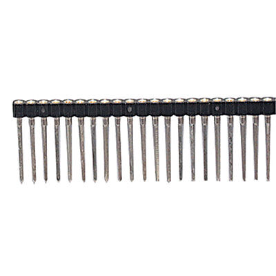 ".100"" Single In-Line Wire Wrap Machine Tooled Strip Socket 30 Pin 2 pcs"
