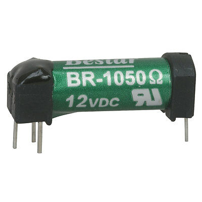 Bestar Electric BR-1050 Reed Relays SPST-NO 0.5A 12VDC 1.05KOhm Thru-Hole 3 pcs