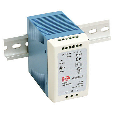 Mean Well MDR-100-48 96W DIN-Rail Switching Power Supply