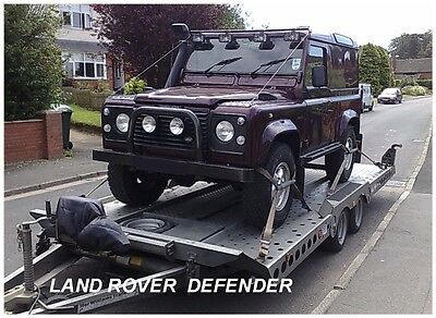 Car Delivery Service Land Rover Transport Cardiff South Wales