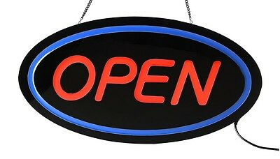 """Brite-Glow LED Open Sign Big size 24"""" X 13"""" X 1.45"""" New in the box"""