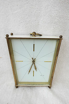 Vintage Mauthe Ting Tang Carriage Clock For Repair