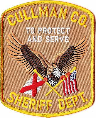 Cullman County Sheriff Department Alabama AL Patch  NEW !!!