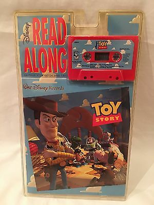Walt Disney Records TOY STORY READ ALONG 24-PAGE STORYBOOK & TAPE NRFP!