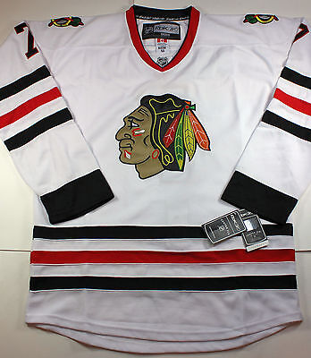 huge discount aba0b b5a5c NHL CHICAGO BLACK HAWKS SEABROOK Jersey by REEBOK MEN's White SIZE XL 50