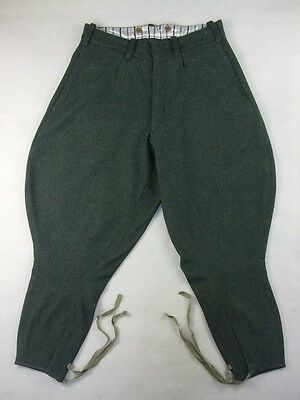 WW2 Italy Italian Grey Green Wool Breeches For Officer Mounted Troops
