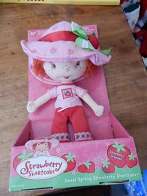 Vintage Strawberry Shortcake Snail Cart Boxed Kenner 1980