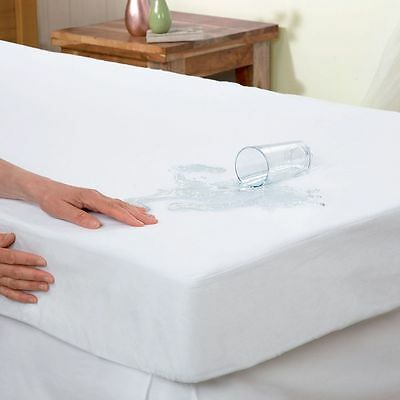 Single Mattress Protector Sheet Wet Matress Cover Waterproof vinyl Washable