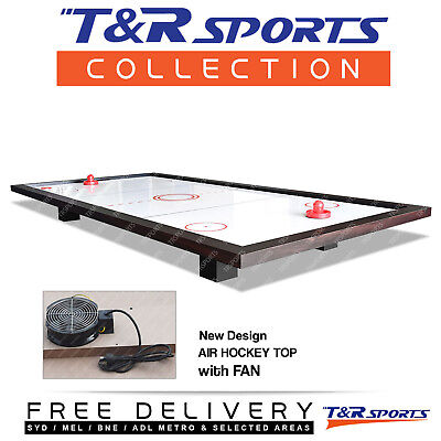Real Fan Air Hockey Top for Pool Billiard Snooker Table Gaming Room Gift