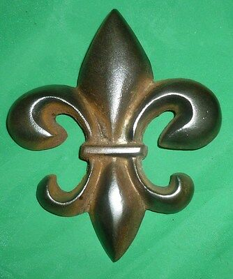Antique Cast Iron FLEUR-DI-LIS - Architectural Salvage