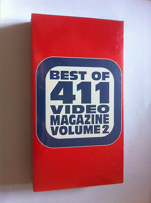411 Best of Volume 2 NEW sealed skateboard vhs video 1995 NOS Thomas Hawk