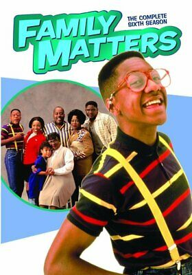 Family Matters: The Complete Sixth Season 6 - DVD - Jaleel White as Urkle (MOD)