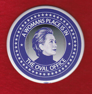 Hillary Clinton For President 2016 Campaign Pinback Instant Classic