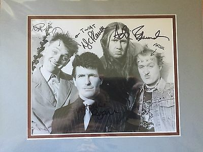 Rik Mayall & CAST hand signed & authentic THE YOUNG ONES photo