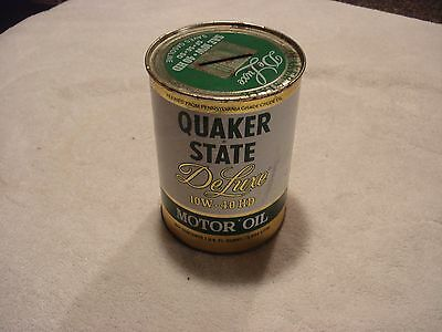 Vintage Quaker State One Quart Oil Can Coin Bank