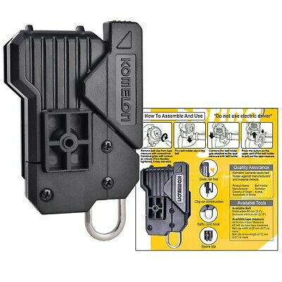 Universal Measuring Tool Tape Measure Holder Carpenter Work Pants Belt Clip 1pcs