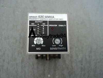 NEW Omron Proximity Switch Amplifier Unit E2C-AM4A