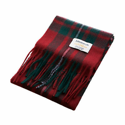 HoS Cashmere Collection Youth's Scottish Multicolour Tartan Small Scarf