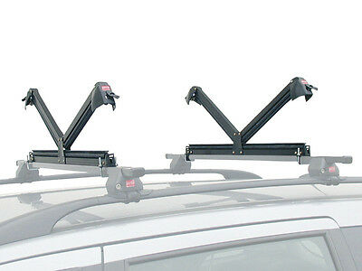 FABBRI ALUSKI 8 - Portaesquís para barras de techo  / Ski rack for roof bars