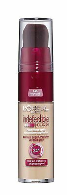 Loreal Infallible Brush Foundation No 145 Rose Beige New Sealed 24Hr Hold