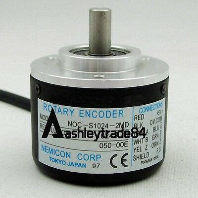 1PCS New NEMICON NOC-S1024-2MD Rotary Encoder
