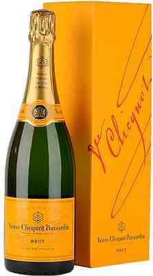 Veuve Clicquot Brut NV Champagne Yellow Label 75cl Gift Boxed