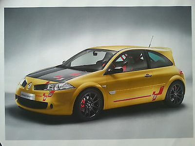 Size A2 Renault Megane R26R Canvas Painting Picture