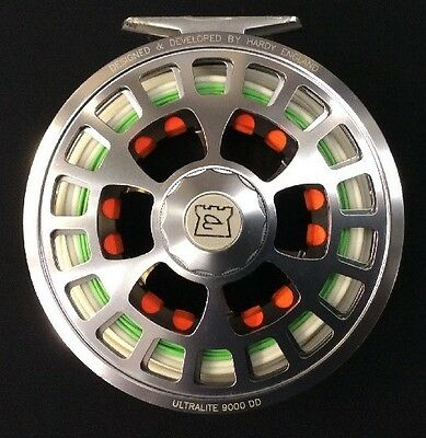 Hardy Ultralite Disc Drag 9000 DD #9/10/11 Fly Reel