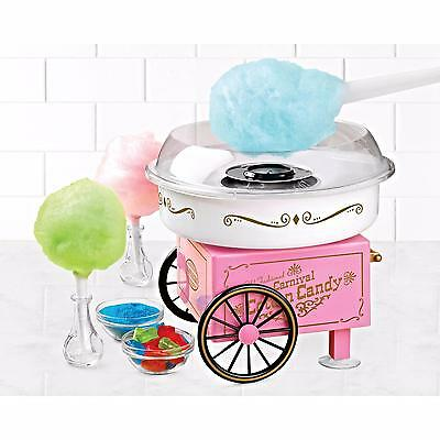 Cotton Candy Maker Electric Machine Cart Kit Store Booth Sugar Free Vintage