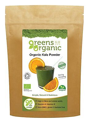 Greens Organic Kale Powder Certified 200g